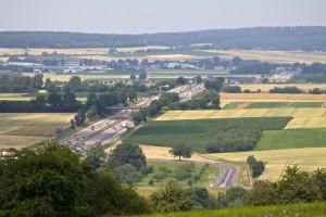 01 A5 Richtung Kassel-Auffahrt Bad Nauheim