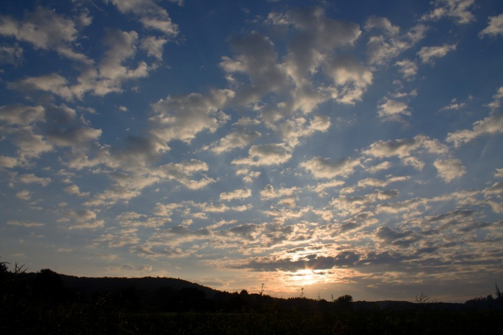 01 Sonnenaufgang 06.06.2013 vor der Arbeit