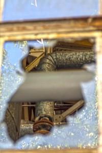 Kaputtes Fenster HDR